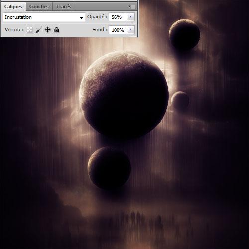 Montage photo avec adobe Photoshop Une scène mystérieuse avec Photoshop