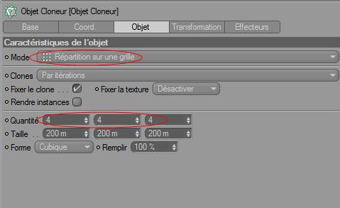 Tuto cinema 4D tuto photoshop Utiliser L'objet cloneur de Cinema 4D pour créer un abstrait avec Photoshop