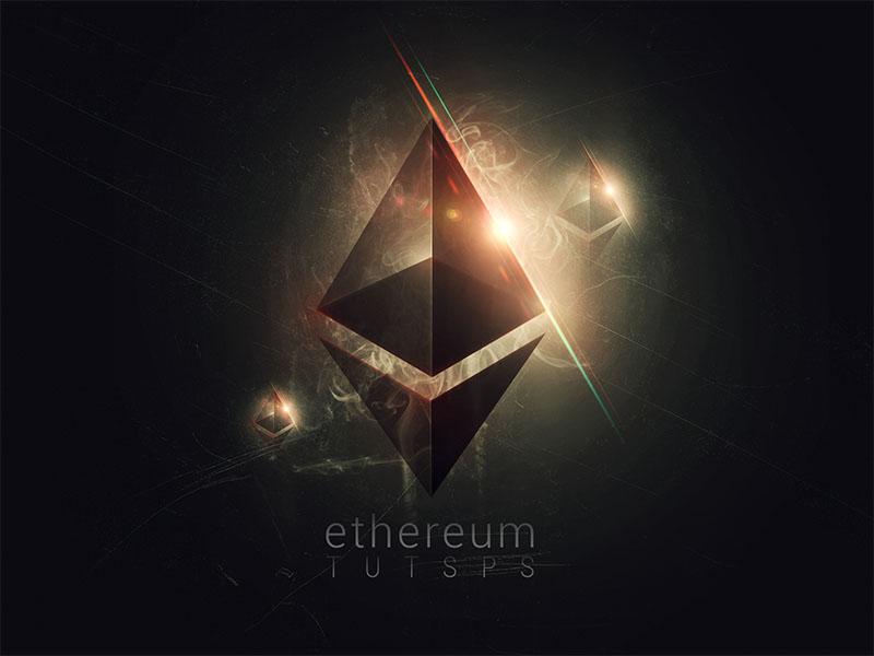 Affiche Ethereum Avec Photoshop