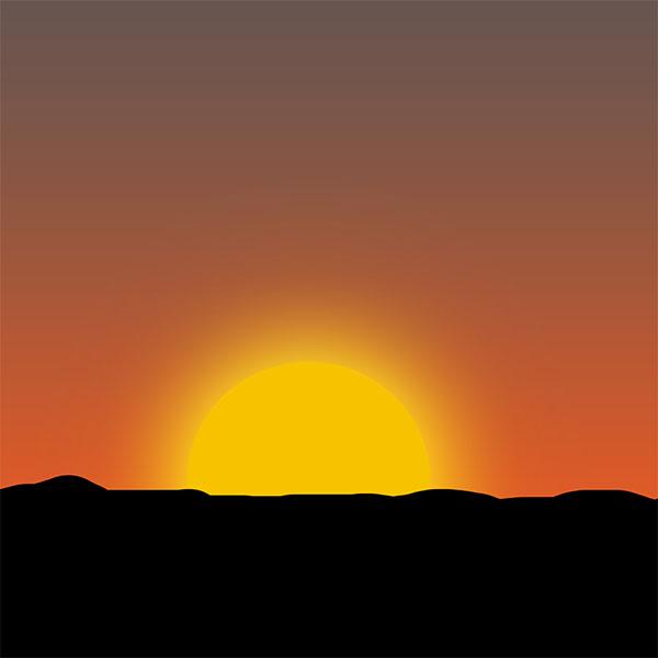 Coucher de soleil africain tuto photoshop les meilleurs - Dessin du soleil ...