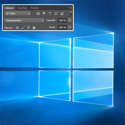 Créer un fond d'écran Windows 10 avec Photoshop - Tuto Photoshop les meilleurs tutoriaux ...