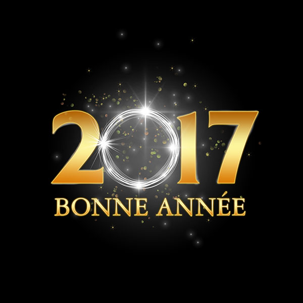 Cr er une carte de v ux 2017 avec photoshop carte bonne ann e 2017 - Carte voeux gratuite 2017 ...