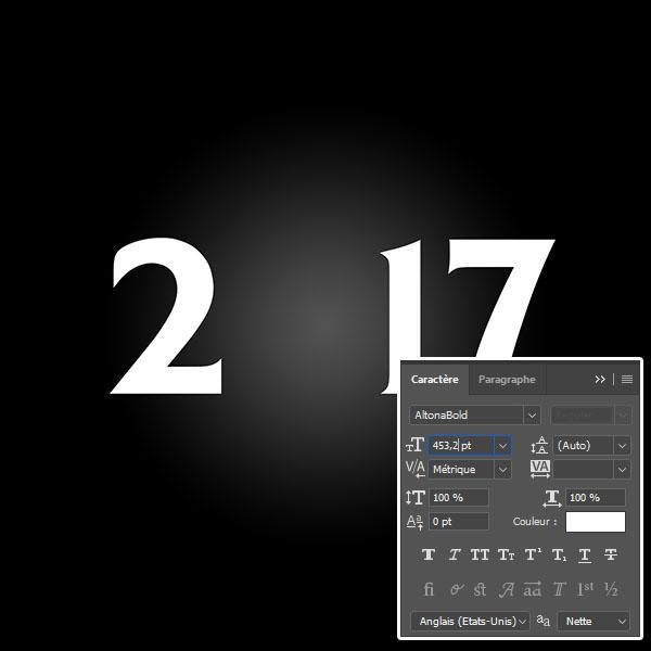 Cr er une carte de v ux 2017 avec photoshop carte bonne for Quelle entreprise creer en 2017