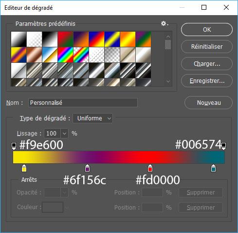 Efecto cristal en texto con Photoshop