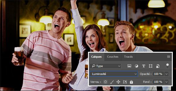 Efecto de película en imágenes con Photoshop y tabla de correspondencia de color de exportación