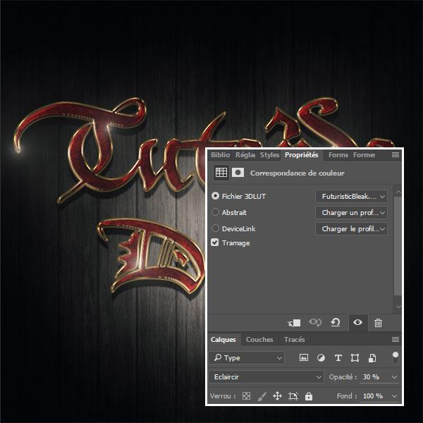 effet de texte or dans photoshop psd téléchargements