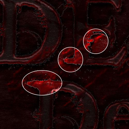 Effet gore sur texte avec photoshop tuto photoshop les for Effet miroir sur photoshop