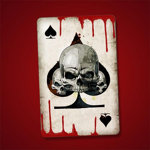 Apprendre A Dessiner Avec Photosho Creer Une Carte De Poker As Pique Photoshop