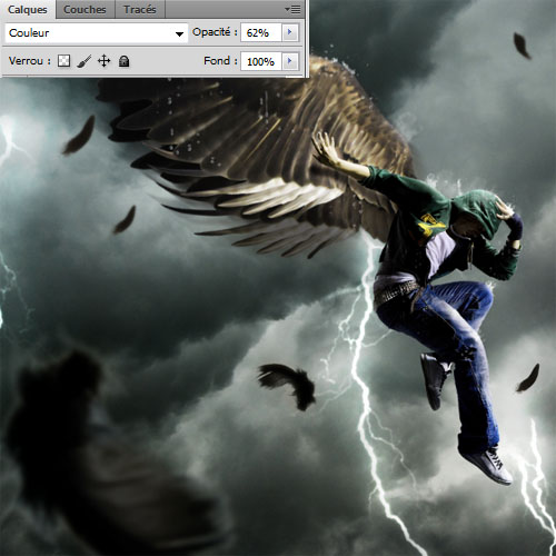 Ангел Гром с Photoshop, Photoshop Dark Angel