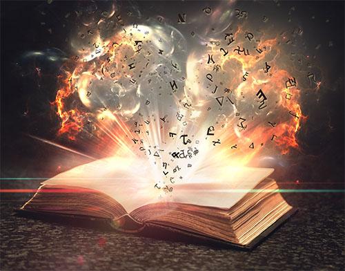 Le livre magique avec photoshop tuto photoshop les for Image miroir photoshop