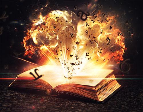 Волшебная книга фотошоп учебник