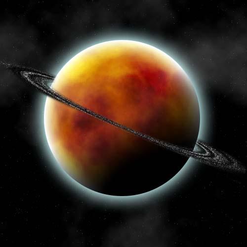Créer une superbe planète avec un ciel étoilé avec photoshop cs4
