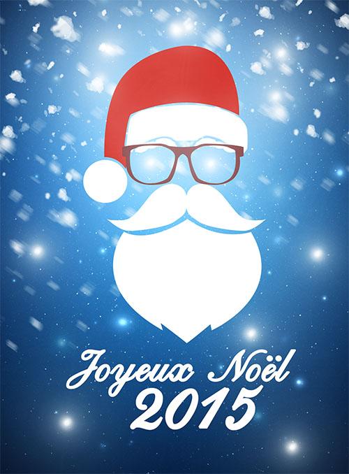 Réaliser une carte pour Noël avec Photoshop   Tuto Photoshop les