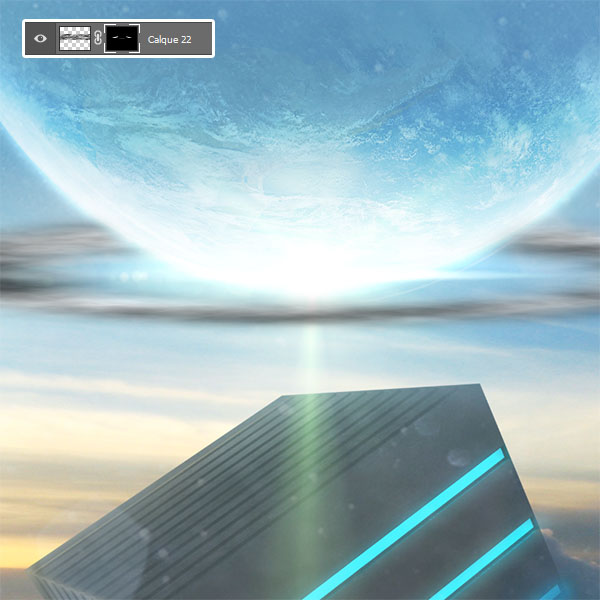 Science-fiction design avec Photoshop et Cinema 4D