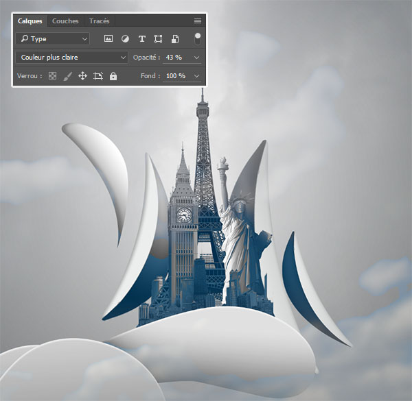 Tutoriel City of light Avec Photoshop