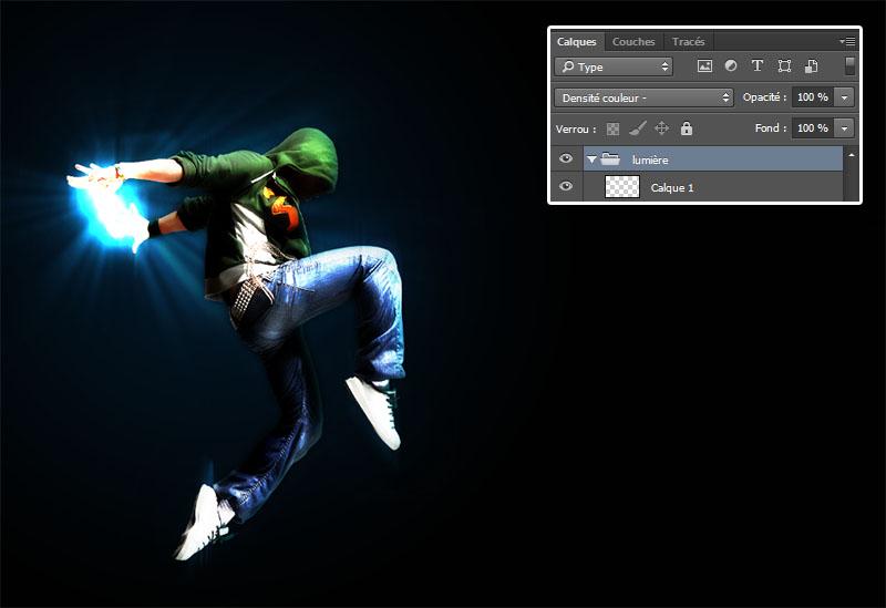 與Adobe Photoshop教程光效