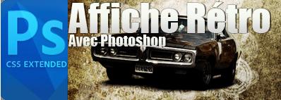 créer un super effet rétro avec photoshop