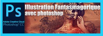 Tout pour apprendre Photoshop CC, cs6, cs5 gratuitement avec des tuto gratuit de TutsPS.Tutoriel Illustration Fantasmagorique avec Photoshop