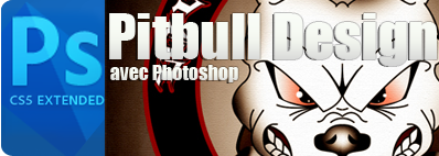 Tutoriel Pitbull design photoshop