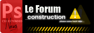 Forum under construction