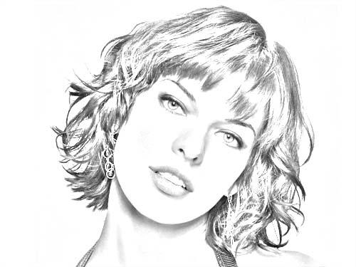 Tutorial effet contraste noir et blanc tuto photoshop for Dessin graphique noir et blanc