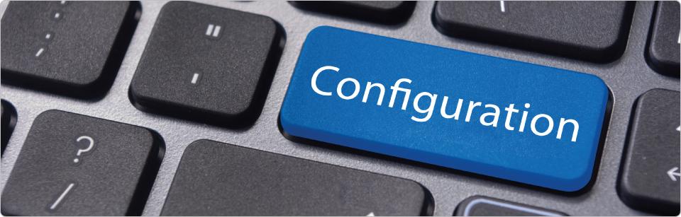 configuration de site internet