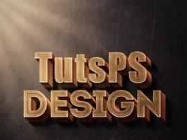 Effet de texte 3D avec Photoshop CC