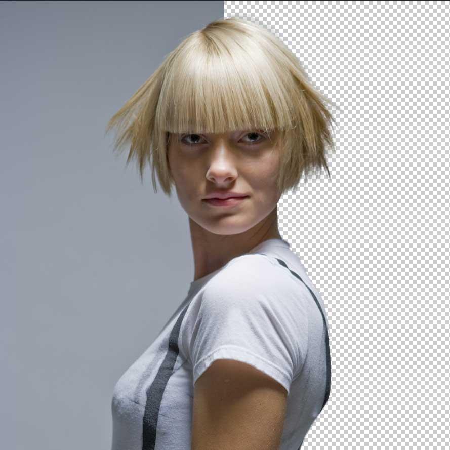 Changer la couleur de cheveux sur photoshop