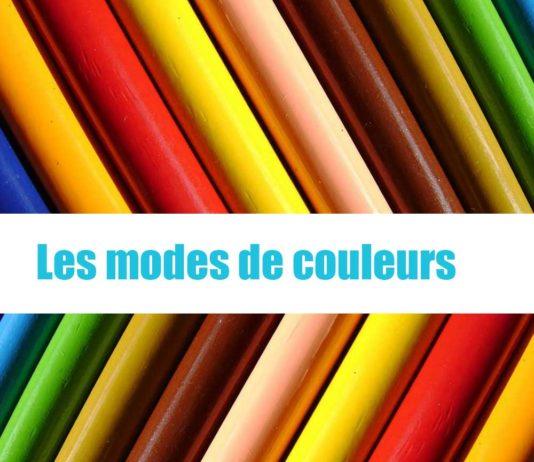 les modes de couleurs