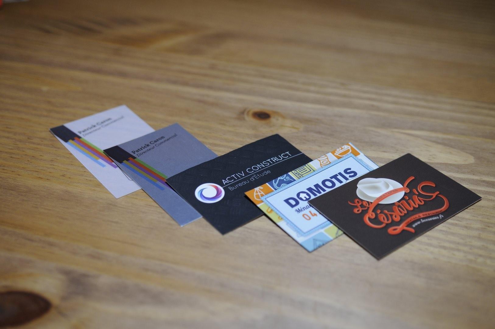 Turbo 10 conseils pour vos cartes de visite - Trucs et astuces LH09