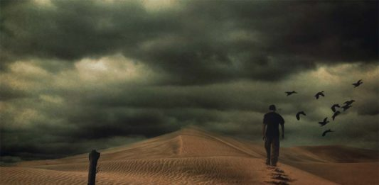 Photomanipulation La solitude