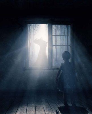 Photomanipulation La nuit de l'horreur