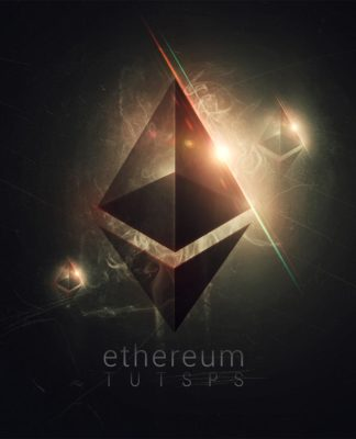 Affiche Ethereum avec Photoshop